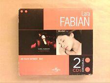 RARE COFFRET 2 CD / LARA FABIAN / EN TOUTE INTIMITE + NUE / TRES BON ETAT
