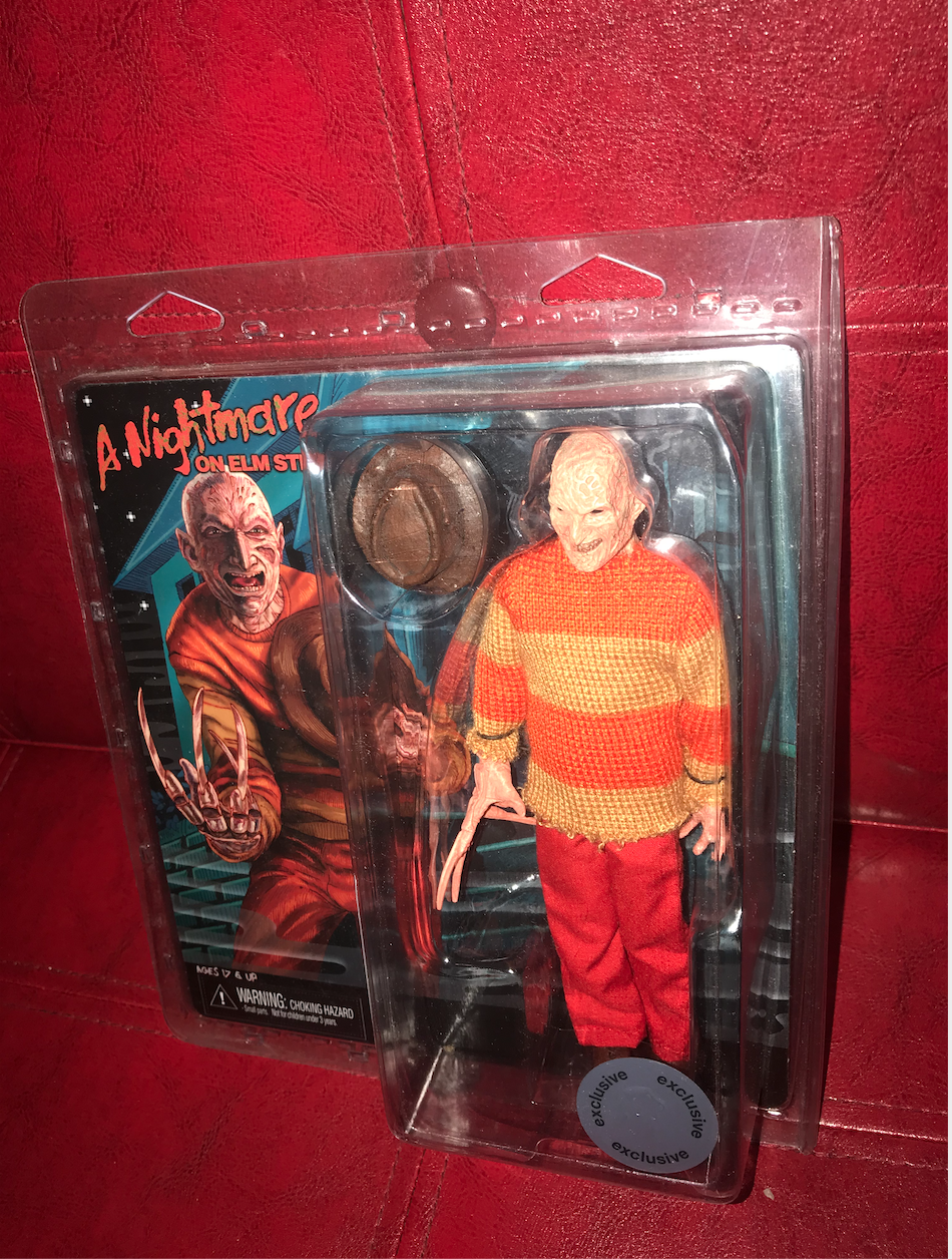 Frotdy Krueger Figure Toys R Us Exclusive Retro Nightmare on Elm Street