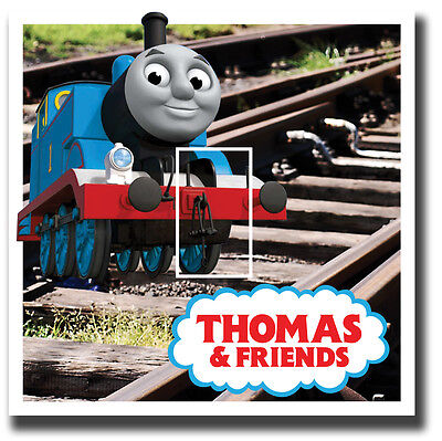 Thomas The Tank Engine Light Switch Vinyl Sticker Cover Skin