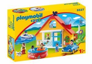 Playmobil-Urlaub-Heim-9527-Farbig-Figuren-Spielset-Brand-New-amp-boxed-18-Monate