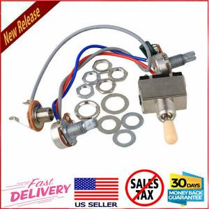 1-Set-Electric-Guitar-Wiring-Harness-Kit-Fit-Epiphone-Les-Paul-LP