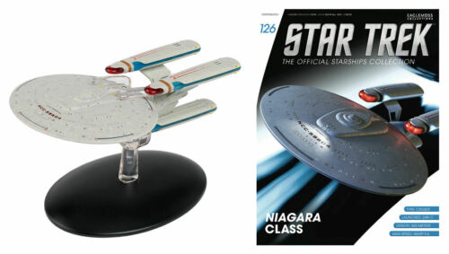 Star Trek USS Princeton NCC-59804 Niagara Class Ship /& Magazine #126 Eaglemoss