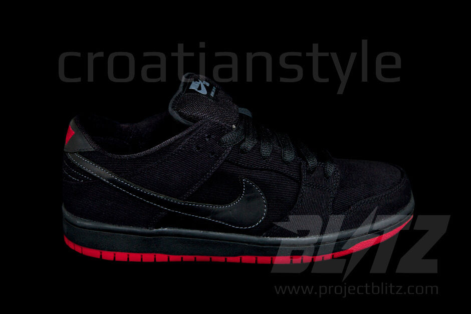 Nike e basso nero (premio sb levis sz 6.5-13 573901-001 nero basso 2c7858