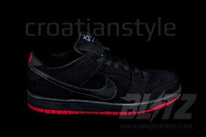 Nike DUNK LOW PRO PREMIUM SB LEVIS Sz 6.5-13 BLACK 573901-001