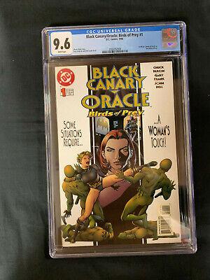 Black Canary Oracle Birds Of Prey 1 1996 Cgc 9 6 Dc Comics 1st Birds Of Prey Ebay