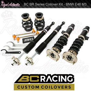Details about BC Racing BMW E46 M3 1998-2006 BR Coilover Suspension Kit  Race Track Drift Drift