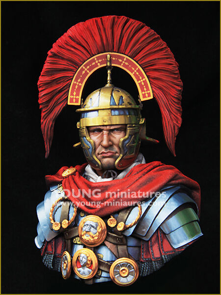 Young Miniatures Roman Optio 1 10th YH1850 Bust Unpainted kit