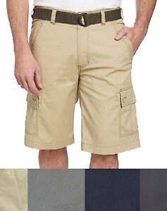 SALE-NEW-Wearfirst-Men-039-s-Free-Band-Belted-Cargo-Shorts-SIZE-amp-COLOR-VARIETY-D32