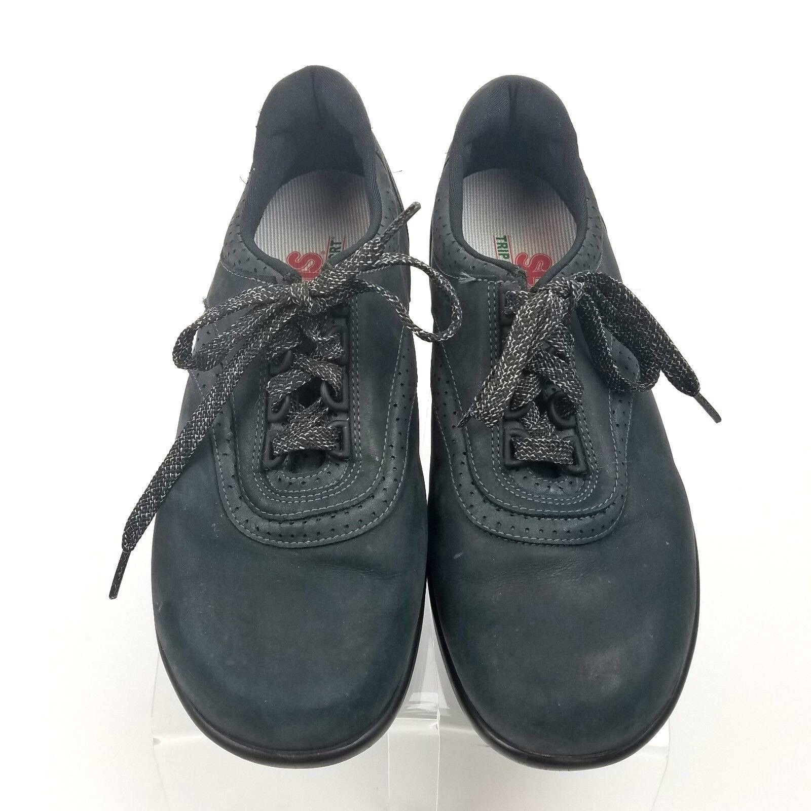 Servicio Aéreo Especial Oxfords para mujer talla 8 W caminar caminar caminar fácil Negro Nubuck negro Gamuza Con Cordones  barato y de moda