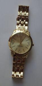 8d07cff72a36e NINE WEST Women WATCH NW 1578 SUNRAY Dial Gold-Tone Bracelet ...