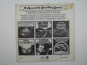 "A Mercury ""In-Store Play"" Special Vinyl LP Record Album"