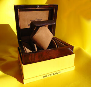 BREITLING-GOLD-UHREN-BOX-WATCH-BOX-CASE-CAJA-DE-RELOJ-B006