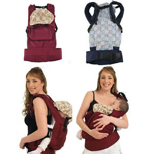 Adjustable Baby Carrier Wrap Sling Newborn Backpack Breathable Ergonomic UK