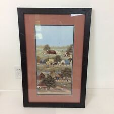 Storm Crossing Horses Framed Limited Edition Print By Chris Cummings Ebay