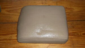 Land-Rover-Discovery-2-Beige-Center-Console-Lid-99-00-01-02-03-04-Cubby-Box-Boot