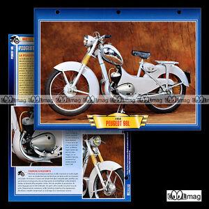 """#142.08 Fiche Moto PEUGEOT 98 L 1955-1959 Classic Motorcycle Card - France - État : Occasion : Objet ayant été utilisé. Consulter la description du vendeur pour avoir plus de détails sur les éventuelles imperfections. Commentaires du vendeur : """"Excellent état / Great condition"""" - France"""