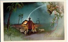 Buon Natale con Campana Bell Cloche Glocke Vintage PC Circa 1930