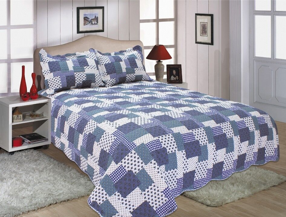 45-All For You  quilt set, bedspread, coverlet-reversible-free shipping