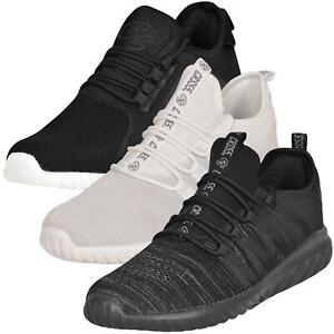 Crosshatch Mens Lace up Trainers