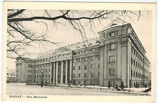 Winter View about Academic House in Poznan, Poland, 1940s/50s