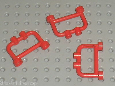 4 white fence closed studs Lego 4 barrieres blancs set 10197 7709 6455 7899