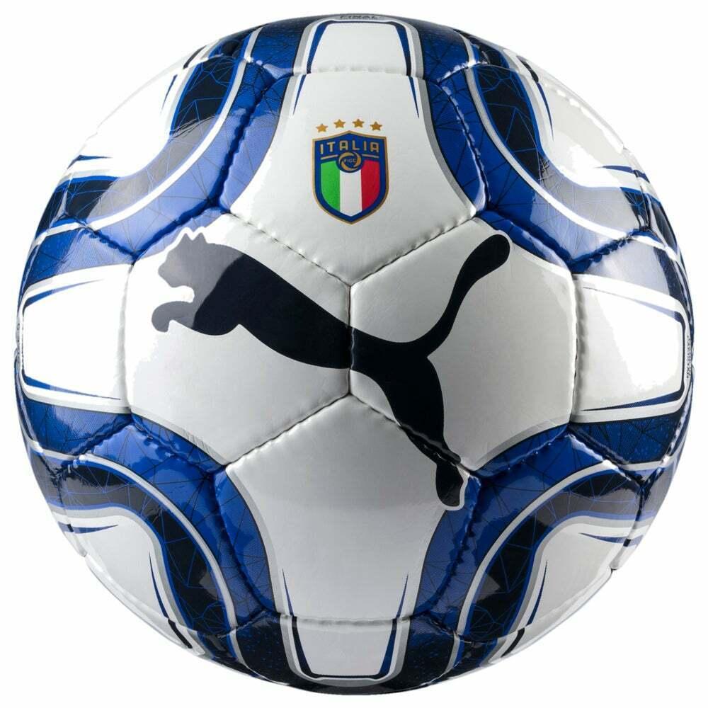 Puma Italia Final 5 Hs Trainer  Ball Mens Soccer Cleats     - Blue
