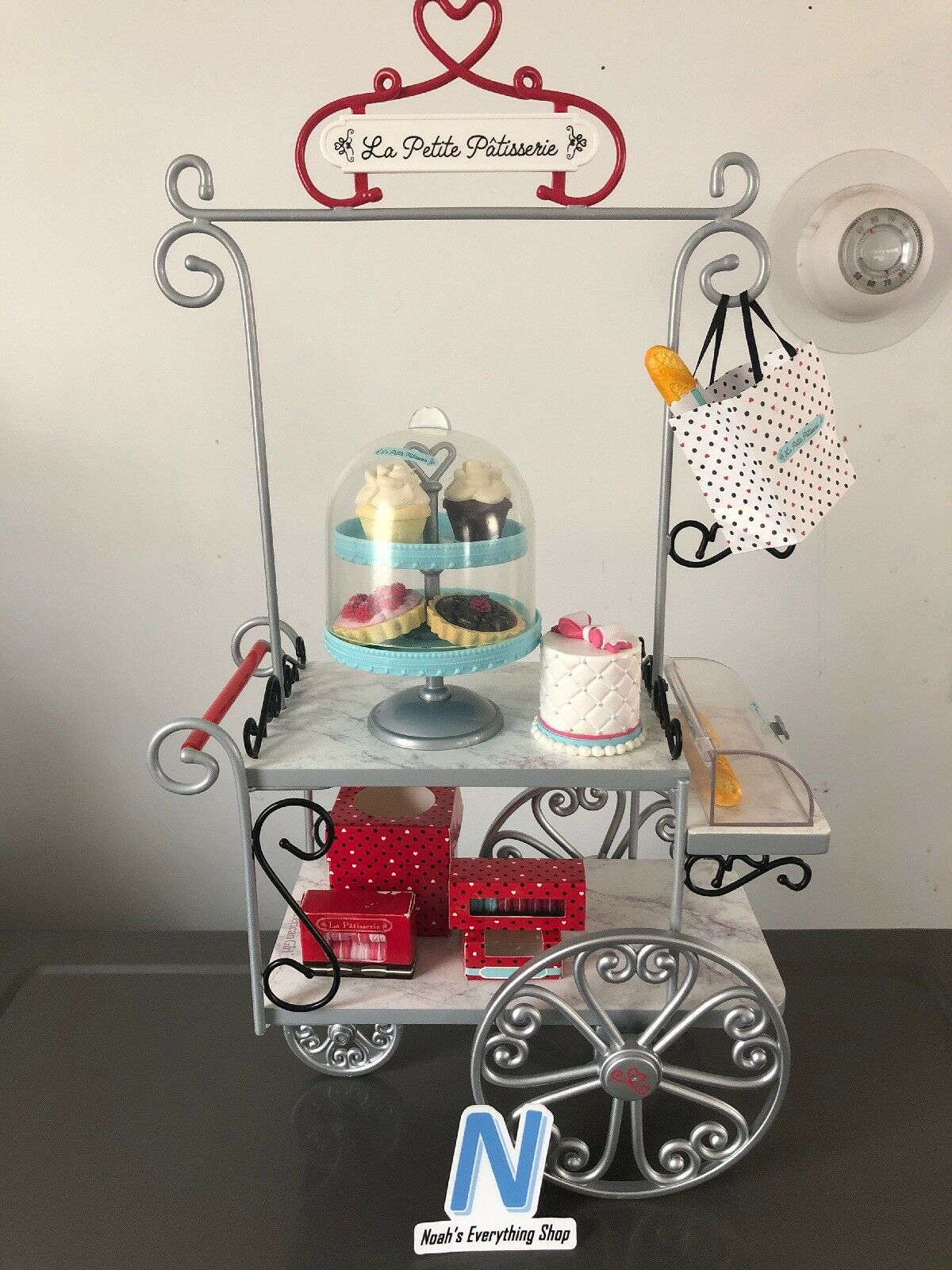 American Girl Grace's Pastry Cart La Petite Patisserie & Accessories Pre-Owned