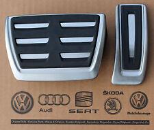 Audi RS6 4G C7 original Pedalset A6 S6 Pedale Pedalkappen A7 RS7 pedal cover pad