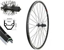 """28/"""" Hinterrad Shimano Deore FH-T610 Nabe EXAL ZX 19 Felge DT Speiche silber"""