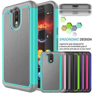 For-Motorola-Moto-G4-G4-Plus-Gen-Hybrid-Rugged-Rubber-Shockproof-PC-Hard-Case
