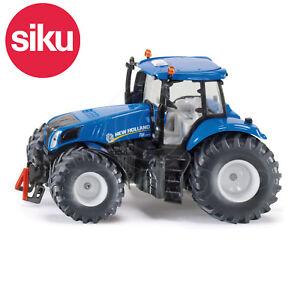 SIKU-N-3273-1-32-escala-nuevo-HOLLAND-T8-390-TRACTOR-Moldeado-Modelo-Juguete