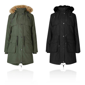 Marks /& Spencer M/&S T493747 Padded Winter Warm Parka with Stormwear RRP £89