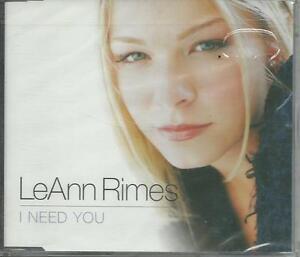 LEANN-RIMES-I-need-you-2001-CD-single