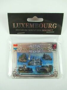 Luxemburg-Luxembourg-Premium-Souvenir-Magnet-Laser-Optik-NEU