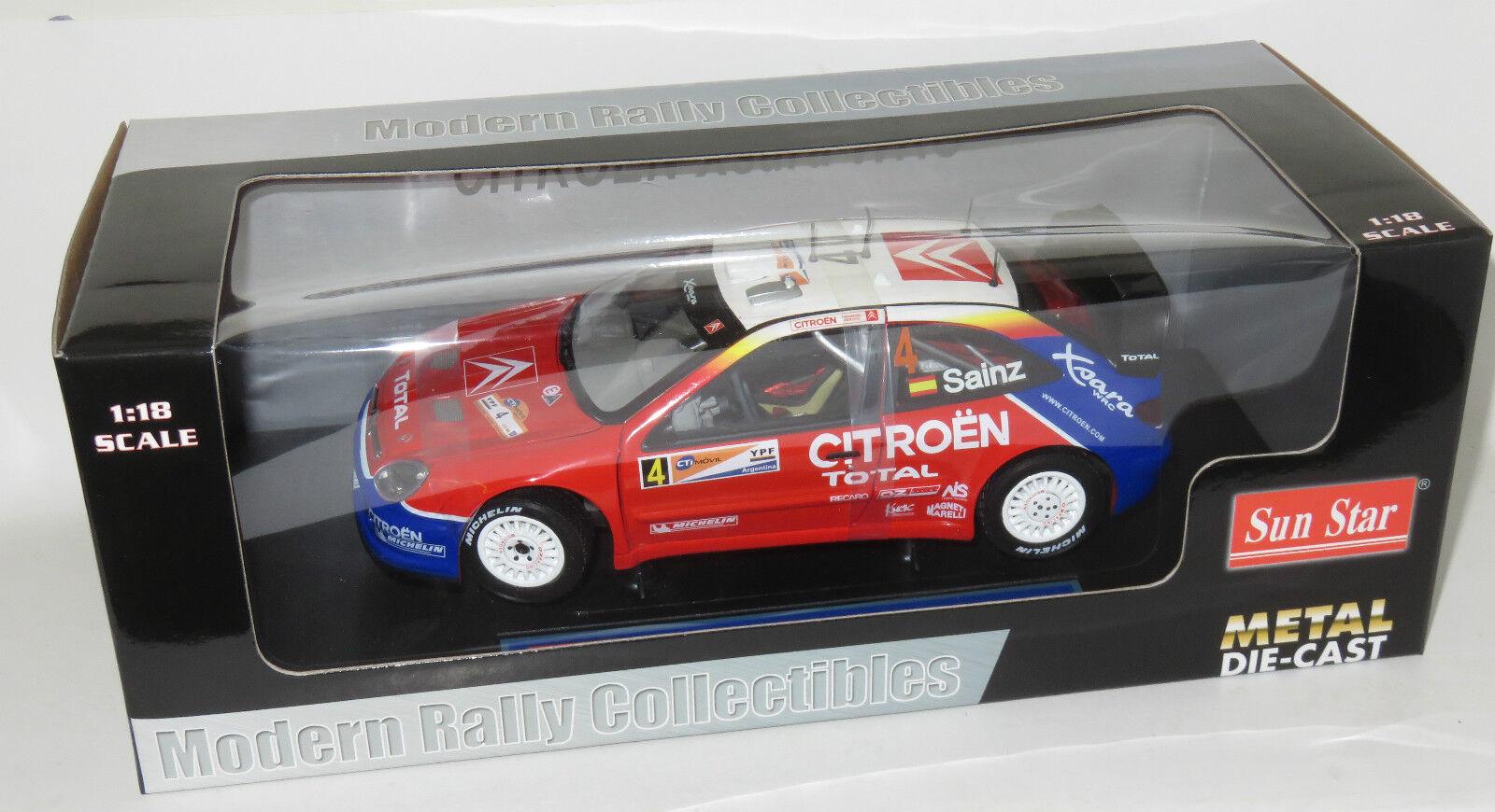 Total 1 18 Citroen Xsara WRC Rally plataina 2004 2004 2004 Carlos Sainz Marc Marti 264ff4