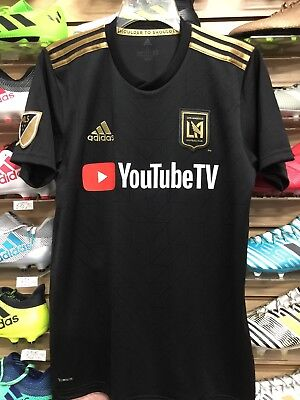Adidas LAFC HOME JERSEY BLACK AND GOLD FITO ZELAYA #22 Size Large Only | eBay