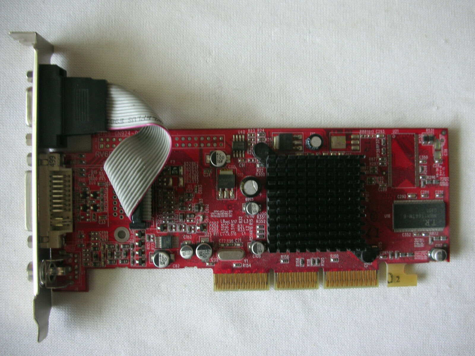 Powercolor RV6DE ATI Radeon 7000 64mb VGA TV Out DVI AGP