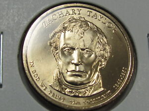 2009-P-amp-D-Zachary-Taylor-1-Presidential-Golden-Dollar-Coin-Set
