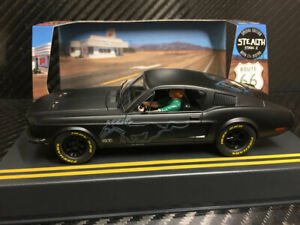 Pioneer 1968 Ford Mustang Fastback Gt Grey Scalextric Slot Car 1 32 Drp Ebay
