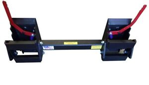 Details about Skid Steer Universal Hitch Adapter w/3 Rollback Settings 8297