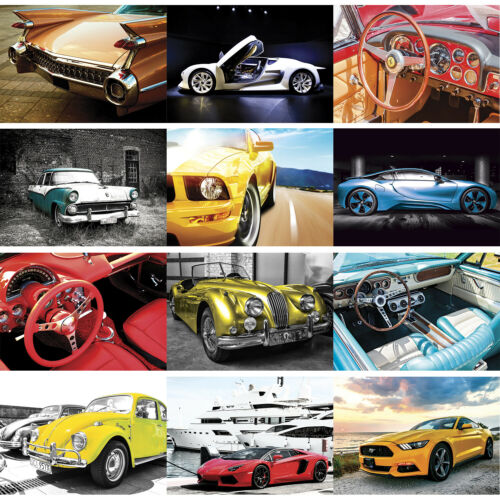 Classic Sports Speed Racing Car Wall Art Deco Poster Cars Posters