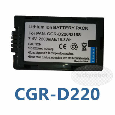 12 Month Warranty Rechargeable Battery for Panasonic LUMIX Digital Camera AAA Products Replacement for Panasonic LUMIX CGR-S006E Battery High Capacity
