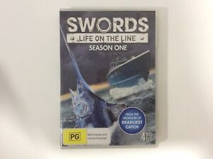 Swords-Life-on-the-Line-Season-1-4-Discs-All-Region-Excellent-Condition