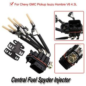 1 * High Quality Replaceable Central Fuel Spyder Injector For Chevy Gmc Pickup