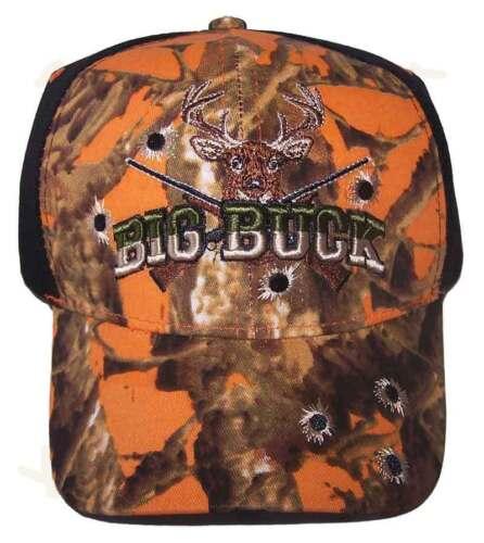 Huntcap101* Hunting Deer Big Buck Embroidered Baseball Caps Hats