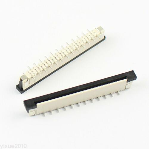 5Pcs FPC FFC 1.0mm Pitch 25 Pin Drawer Type SMT SMD Ribbon Flat Cable Connector