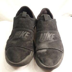 Nike-Men-039-s-Size-10-Black-Black-Slip-On-Sneakers