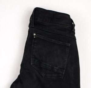 G-Star Raw Damen Lynn Mittelhoch Super Skinny Stretch Slim Jeans Größe W30 L30