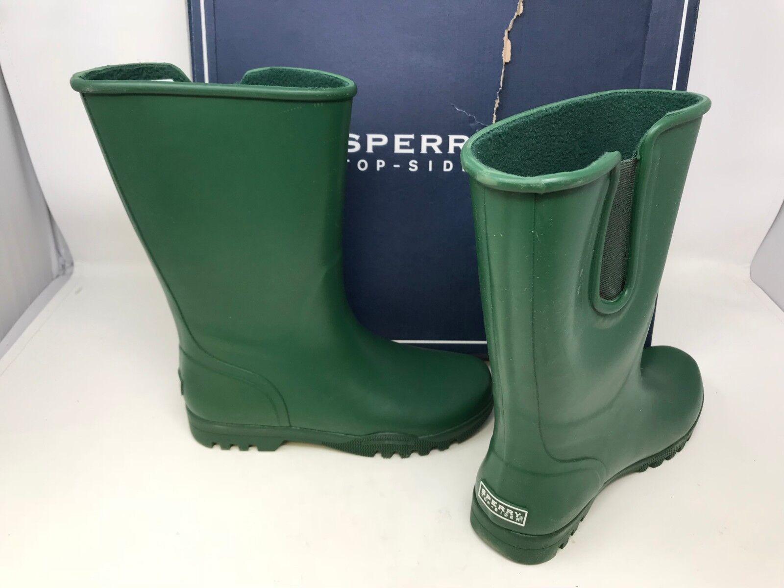 NEW  Sperry Top-Sider Women's Nellie Rain Boots Green Size 5 159B tz