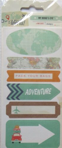 Travel Discovery Note Pads Hello World MME Sticky Notes